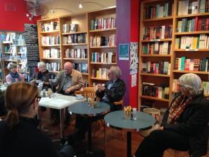 ian reid at bookcaffe 1